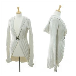 Linq Long hooded cardigan